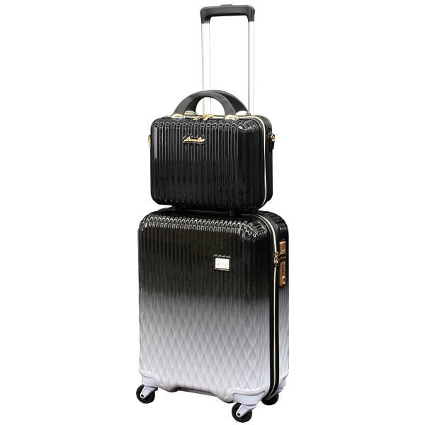 スーツケース Mサイズ キャリーバッグ キャリーケース ミニトランク付 レディース ショルダーバッグ 1年保証付 シフレ ルナルクス LUNALUX LUN2116 55cm|amakusakaban|24