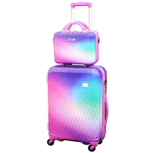 スーツケース Mサイズ キャリーバッグ キャリーケース ミニトランク付 レディース ショルダーバッグ 1年保証付 シフレ ルナルクス LUNALUX LUN2116 55cm|amakusakaban|25
