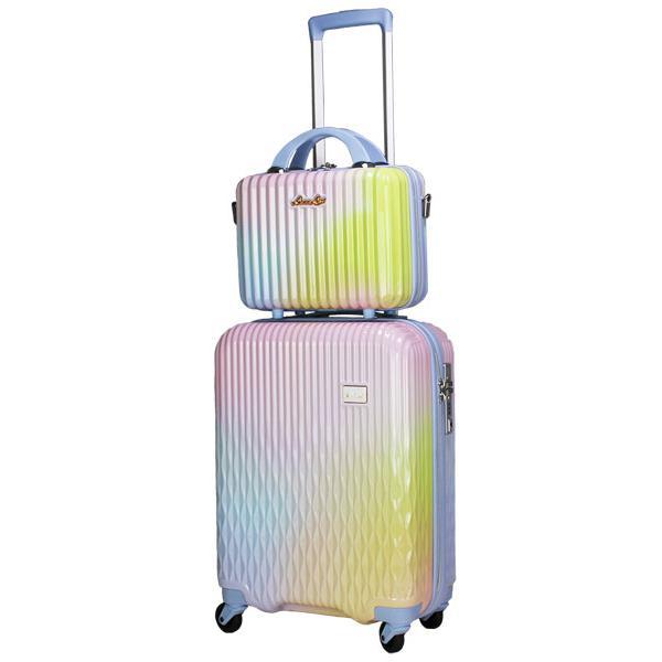 スーツケース Mサイズ キャリーバッグ キャリーケース ミニトランク付 レディース ショルダーバッグ 1年保証付 シフレ ルナルクス LUNALUX LUN2116 55cm|amakusakaban|26