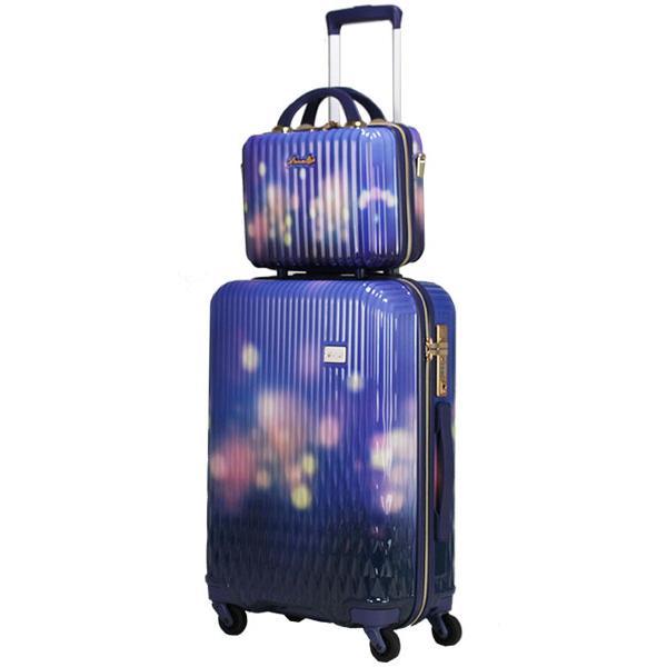 スーツケース Mサイズ キャリーバッグ キャリーケース ミニトランク付 レディース ショルダーバッグ 1年保証付 シフレ ルナルクス LUNALUX LUN2116 55cm|amakusakaban|27