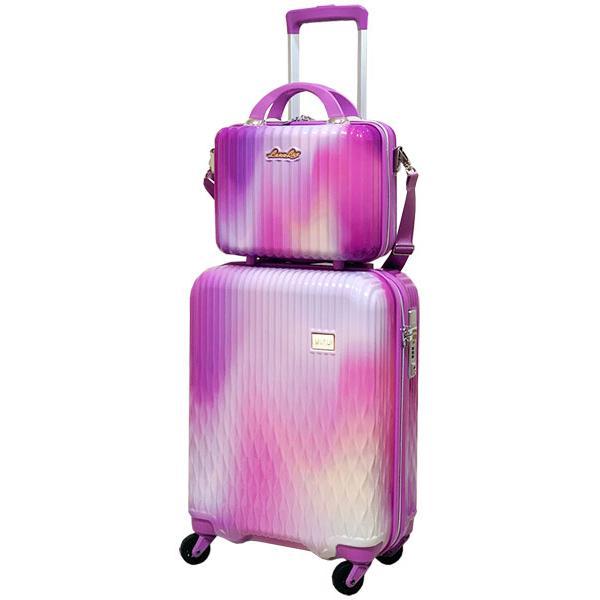 スーツケース Mサイズ キャリーバッグ キャリーケース ミニトランク付 レディース ショルダーバッグ 1年保証付 シフレ ルナルクス LUNALUX LUN2116 55cm|amakusakaban|28