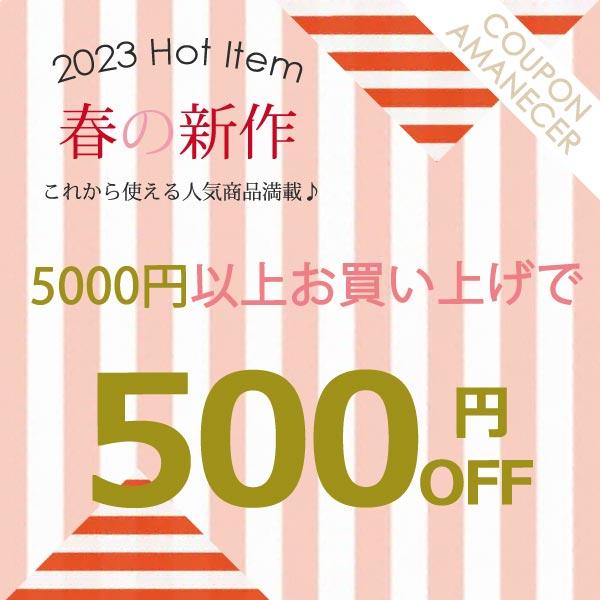 5000円以上お買い上げで500円OFF♪