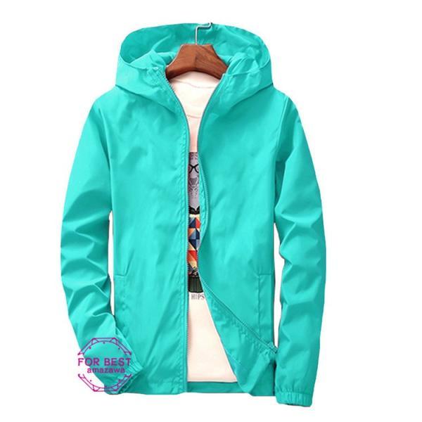 ウィンドブレーカー メンズ ジップアップパーカー ジャケット UVカット 大きいサイズ おしゃれ ブルゾン 撥水 防風 新春 セール amazawa 25