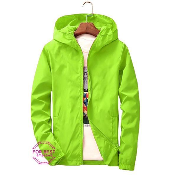 ウィンドブレーカー メンズ ジップアップパーカー ジャケット UVカット 大きいサイズ おしゃれ ブルゾン 撥水 防風 新春 セール amazawa 26