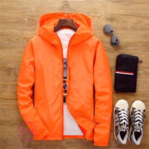 ウィンドブレーカー メンズ ジップアップパーカー ジャケット UVカット 大きいサイズ おしゃれ ブルゾン 撥水 防風 新春 セール amazawa 23