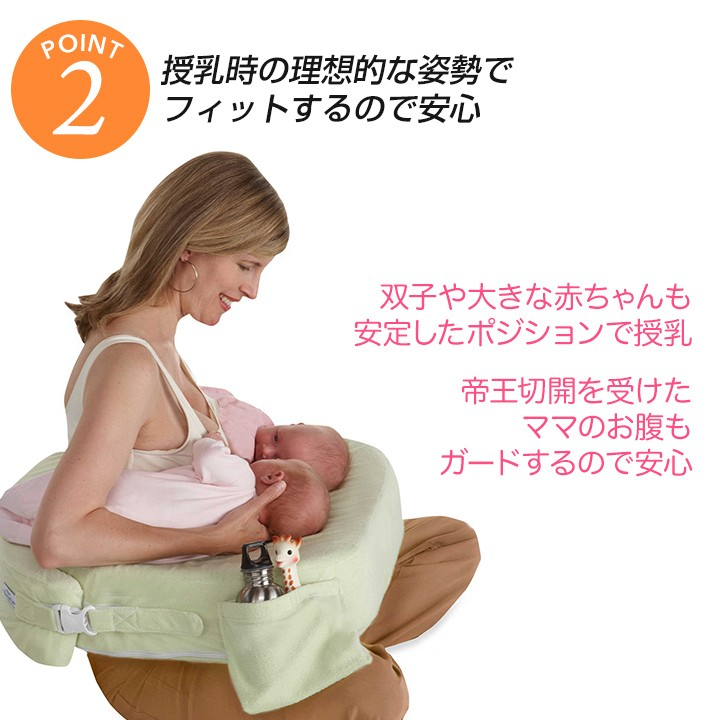 授乳の理想的な姿勢