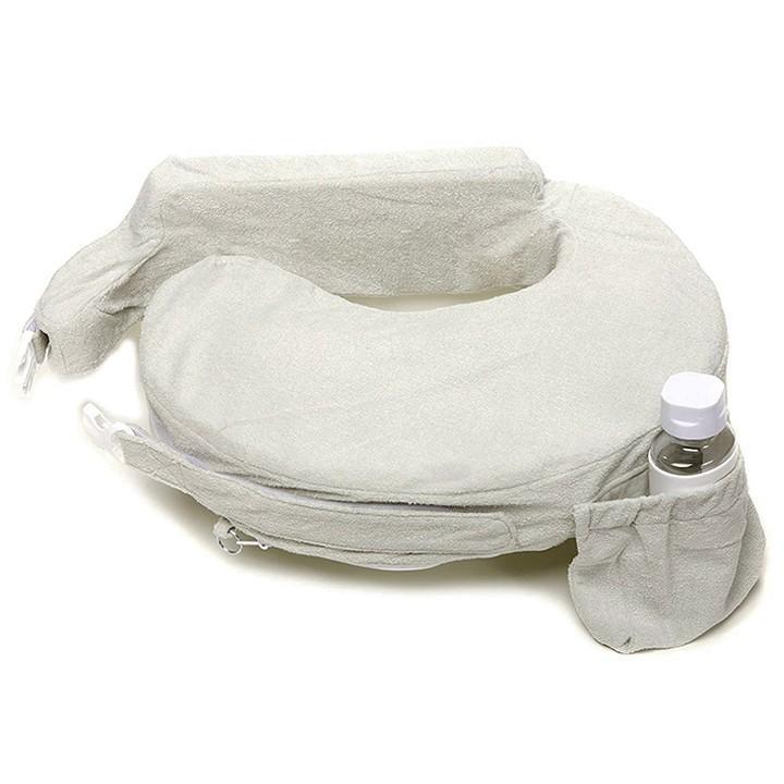 授乳クッション 「赤ちゃんの為に考えられた」 産院で推奨されている 授乳用クッション マイブレストフレンド 洗える おすすめ 人気 プレゼント 出産祝い|amazing-green|30