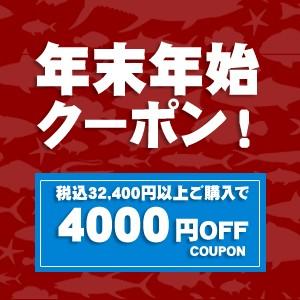 年末年始限定!32,400円以上ご購入で使える4000円OFFクーポン!