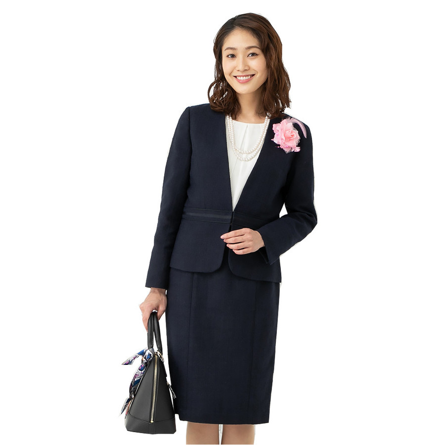 代 入学 40 式 母親 スーツ