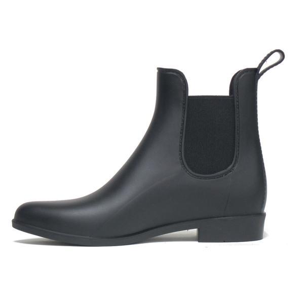 レインブーツ  ショート レインシューズ レディース  長靴 サイドゴア 雨靴 人気 かわいい おすすめ ブランド ヒール 梅雨 つゆ|ami-an|07