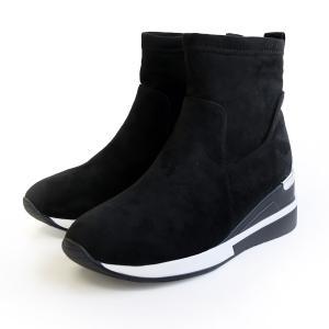 厚底 スニーカー ブーツ レディース 秋冬 ウエッジソール 歩きやすい アミアミ|アミアミPayPayモール店