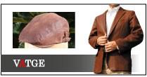 カンガルーレザー専門ブランド ヴァッジのジャケット ハンチング