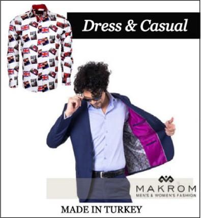 カジュアルシャツの人気メーカーマクロム