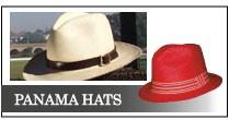 信頼できる商社でちゃんとしたグレードのパナマ帽子を手にする