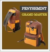 センスの良い革鞄 ペニッシュミントレザーバッグ