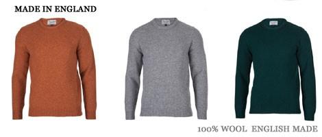 セーターは断然 英国製が良い 老舗ブランド揃い