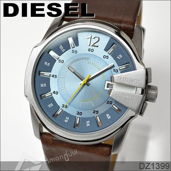 ディーゼル DIESEL 革ベルト腕時計 メンズ DZ1206 革ベルト DIESEL/ディーゼル 革ベルト