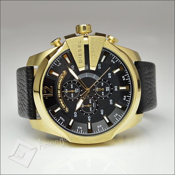 【送料無料】ディーゼル DIESEL 腕時計 メンズ dz4344 クロノグラフ レザーベルト メガチーフ メンズ腕時計 時計 男性用 ディーゼル/DIESEL 人気モデル レア 誕生日プレゼント・クリスマス