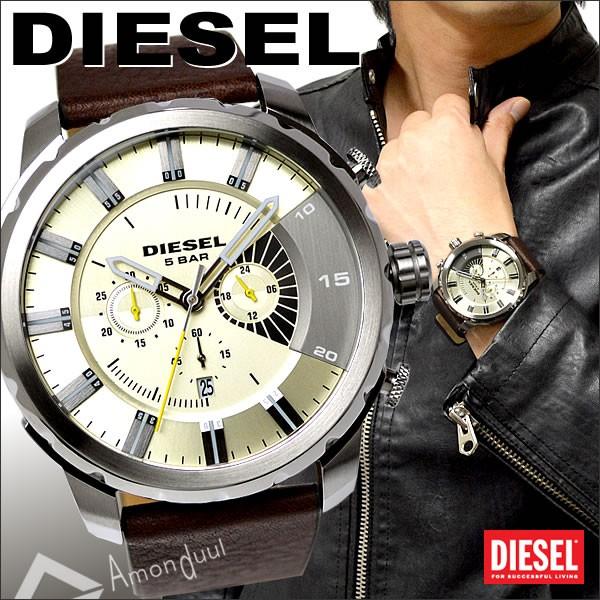 【送料無料】ディーゼル DIESEL 腕時計 メンズ DZ4346 クロノグラフ 牛革レザーベルト ストロングホールド メンズ腕時計 時計 男性用 ディーゼル/DIESEL 人気モデル レア 誕生日プレゼント・クリスマス