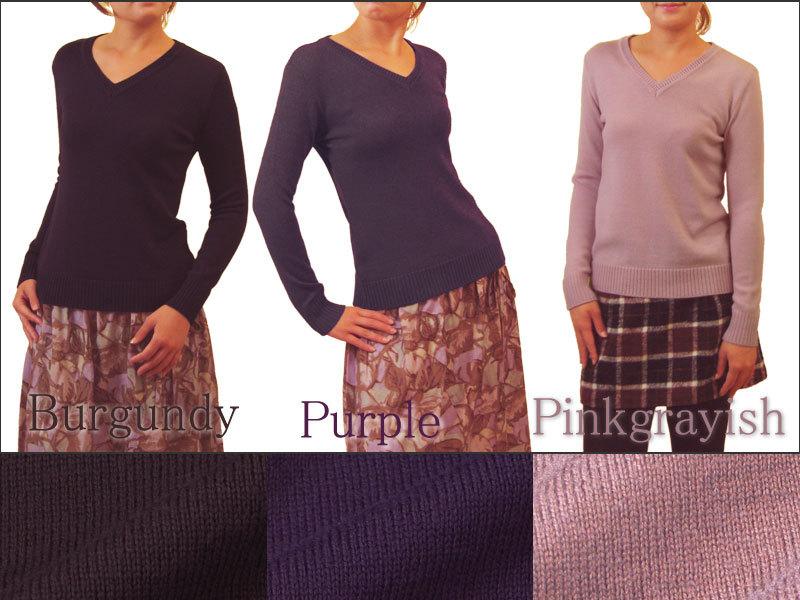 パープル系 バーガンディ 紫