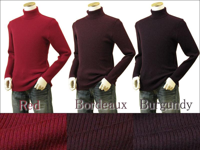 赤 セーター