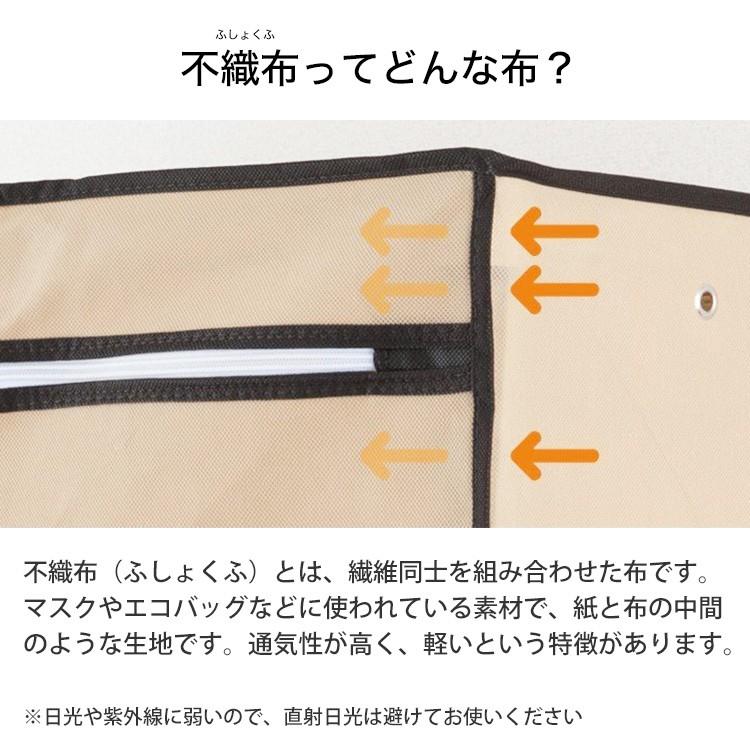 ワードローブ カバー RT9018 90W 不織布