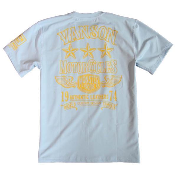 当店別注!VANSON バンソン 新作 吸汗速乾 ドライ半袖Tシャツ ACV-902 スタンダードサイズ|anch-crash|25