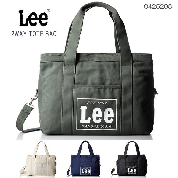 トートバッグ メンズ レディース Lee -リー- キャンバス 3ポケット 2Wayバッグ イメージ写真01