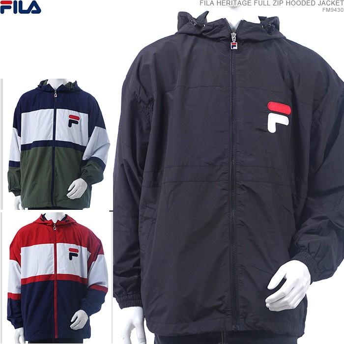 【FILA/フィラ】FILA フード付きジャケット/フィラ ナイロンジャケット/ジャケット