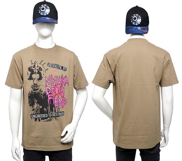 【MISHKA ミシカ】mishka Tシャツ/MISHKA 半袖Tシャツ/ミシカ Tシャツ