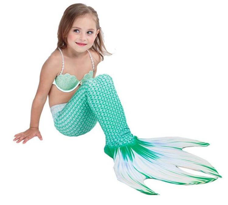 7805a1e8a22bb 水着 子供 女の子 ワンピース水着 ビキニ 水着 人魚 2点セット 可愛い に ...