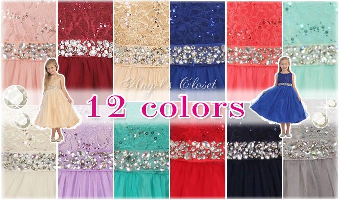 977b43d98fb02 ドレスのカラーは、12色! 発表会の曲のイメージや季節、パーティ会場の雰囲気等楽しく想像しながら、お好きなカラーをお選びください♪
