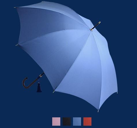 WAKAO カバー付シンプルスレンダー レイン長傘