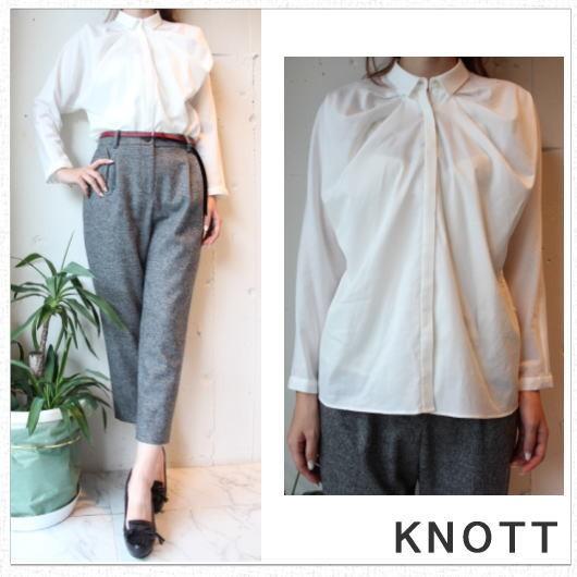 KNOTT(ノット) カルゼタックシャツ