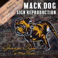 マックドッグサイン