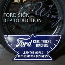 フォードウィングサイン