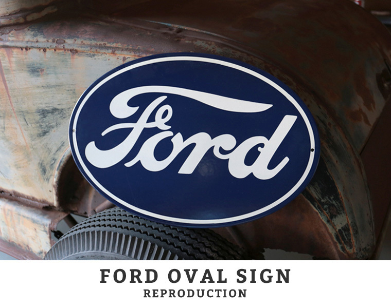 FORD OVAL REPRODUCTION