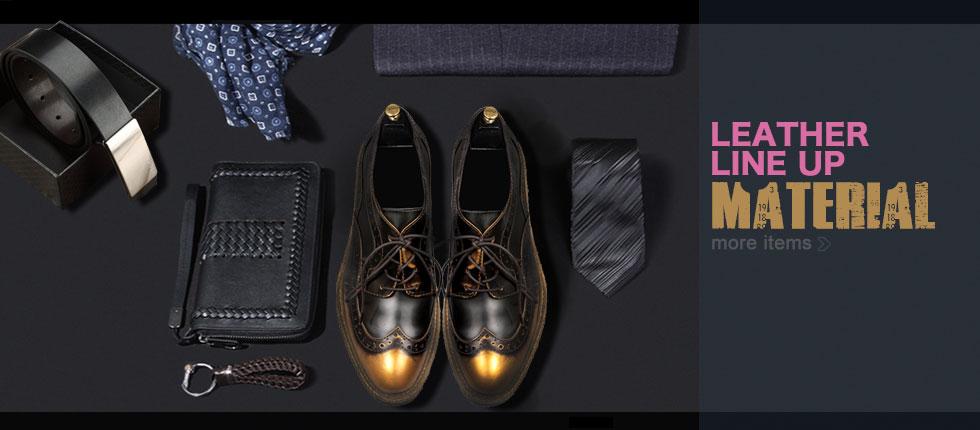 本革 革靴