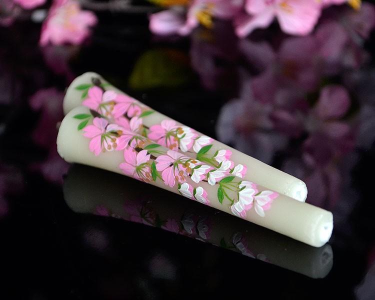 絵ろうそく 和ローソク ローソク キャンドル ろうそく 桜 限定品