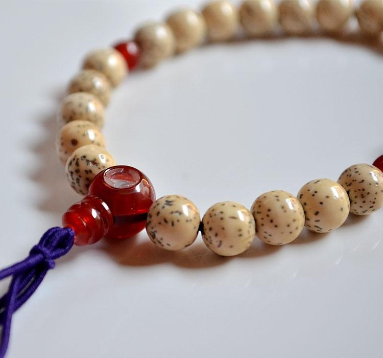 【縁起】【お守り】【念珠】【腕輪】【菩提樹】【数珠】【ブレス】