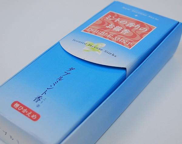 梅栄堂・・・新しいスタイルのお線香・・・ダブルミント香