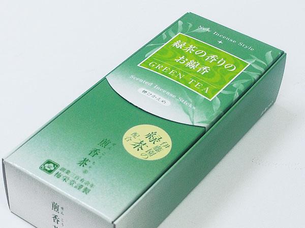 梅栄堂・・・緑茶の香りがリニューアル 伊藤園の緑茶が配合された 煎香茶
