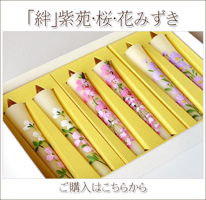 絆〜桜・紫苑・花みずき