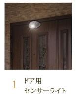 ドア用センサーライト