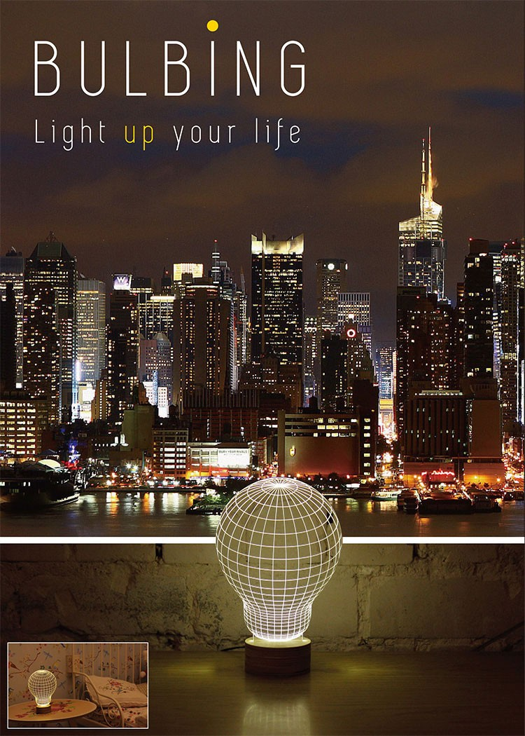 BULBING LAMP バルビングランプ STUDIO CHEHA LEDスタンドライト インテリア 照明 テーブルランプ ナイトライト インテリアランプ バルブ ランプ MoMA