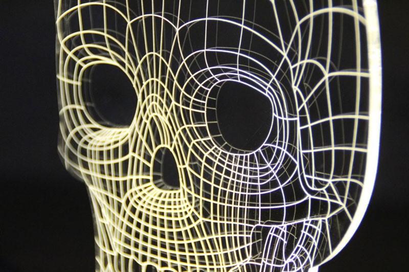 バルブランプ スカルランプ BULBING LAMP STUDIO CHEHA LEDスタンドライト インテリア 照明 テーブルランプ ナイトライト インテリアランプ MoMA バルビングランプ スカル