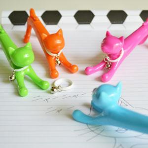 猫のボールペン 猫 キャット ペン ボールペン 筆記用具 ステーショナリー デスク 雑貨