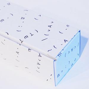 ginghami kaoiro 顔文字回転スタンプ【カオイロ ハンコ 判子 スタンプ ステーショナリー デスクアクセサリー】