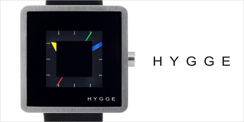 HYGGE 2089 Leather/Black 腕時計 ユニセックス 【ヒュッゲ デザイナー 服飾雑貨 デザイン リストウォッチ 北欧デザイン 時計】