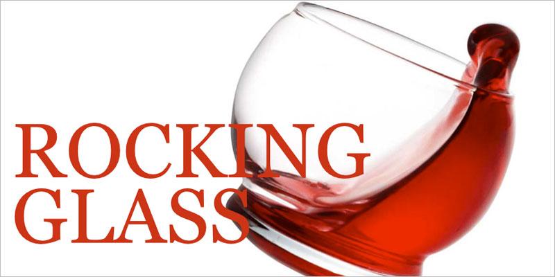 normann COPENHAGEN (ノーマンコペンハーゲン) ロッキンググラス 1個 【ワイン バー グラス コップ 食器】